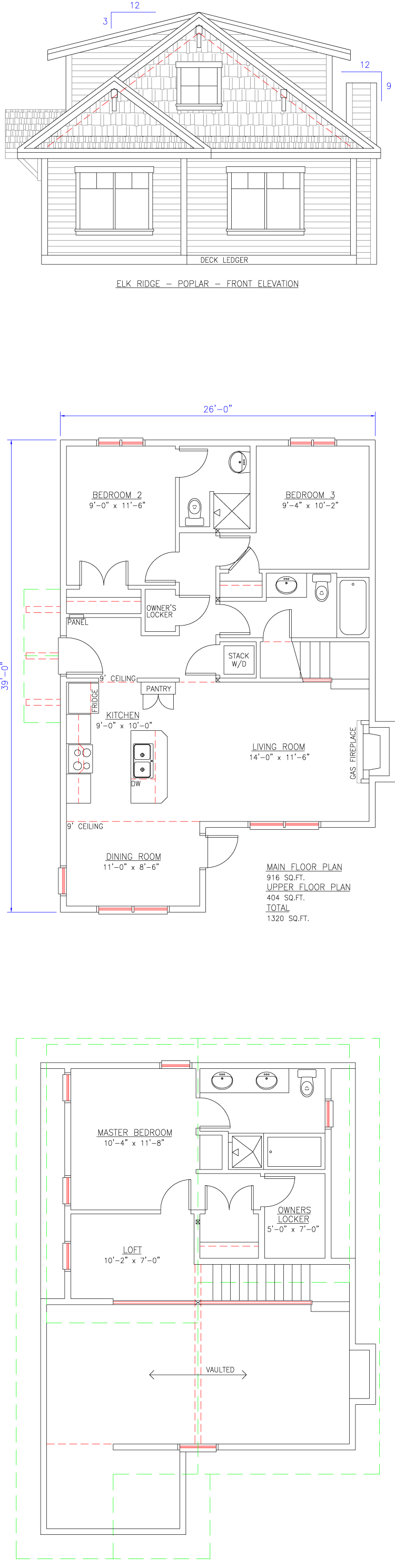 Elk Ridge Poplar Floor Plan