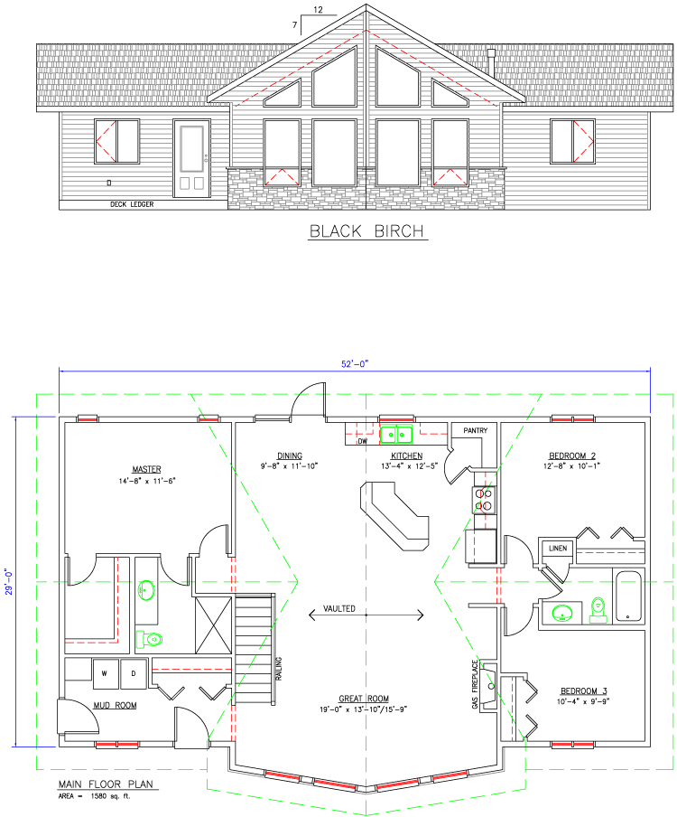 Black Birch Floor Plan