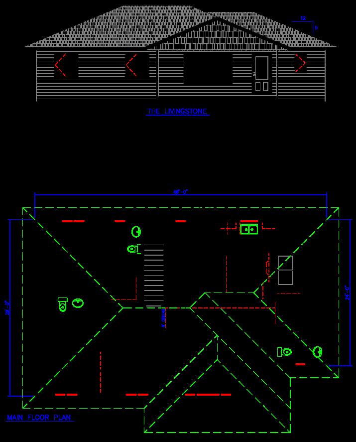 Livingstone Floor Plan
