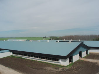 Morsan Farms – Milkstream Dairy Barn
