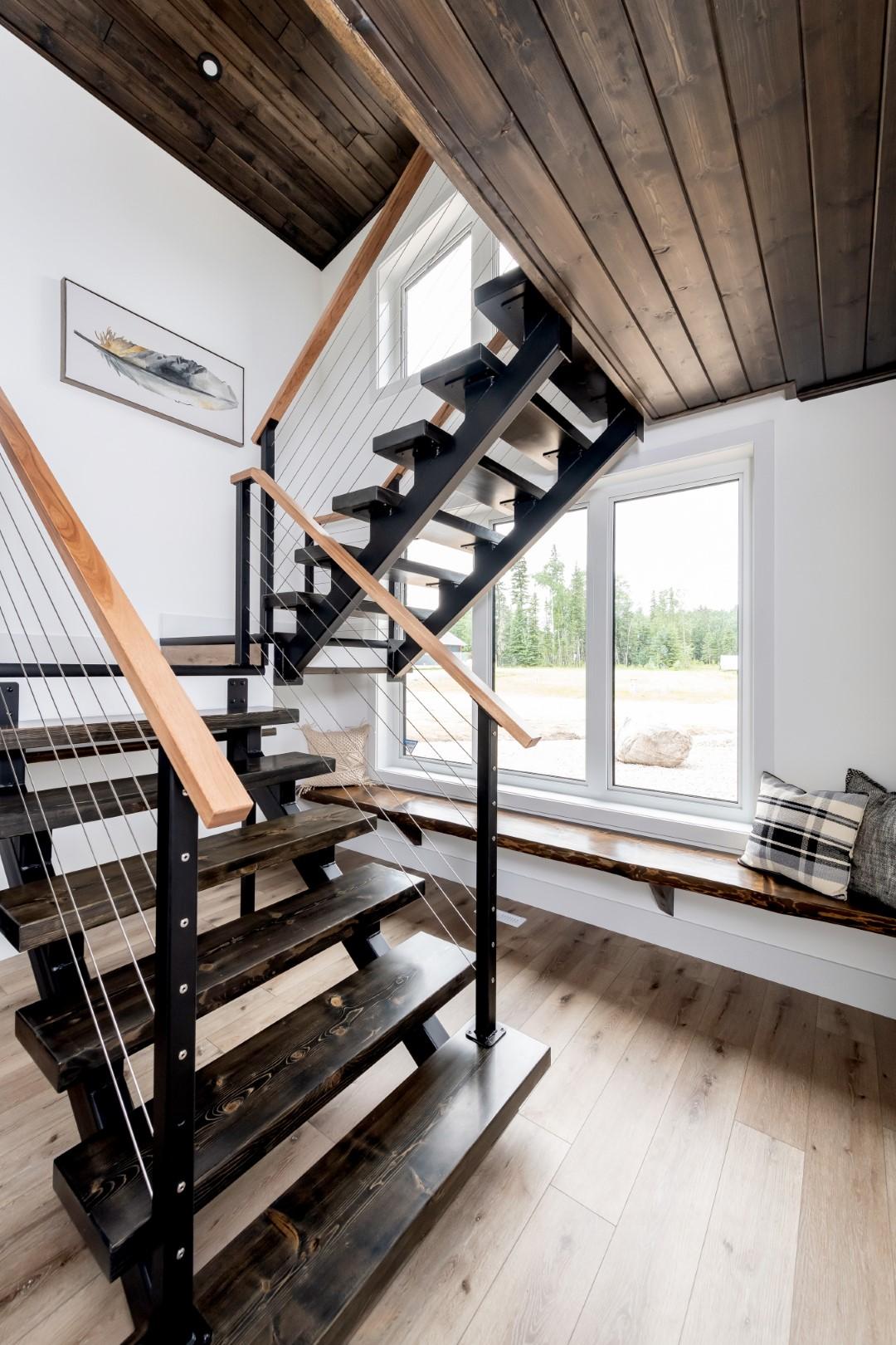 Saskatoon Hospital Home Lottery 2019 Staircase