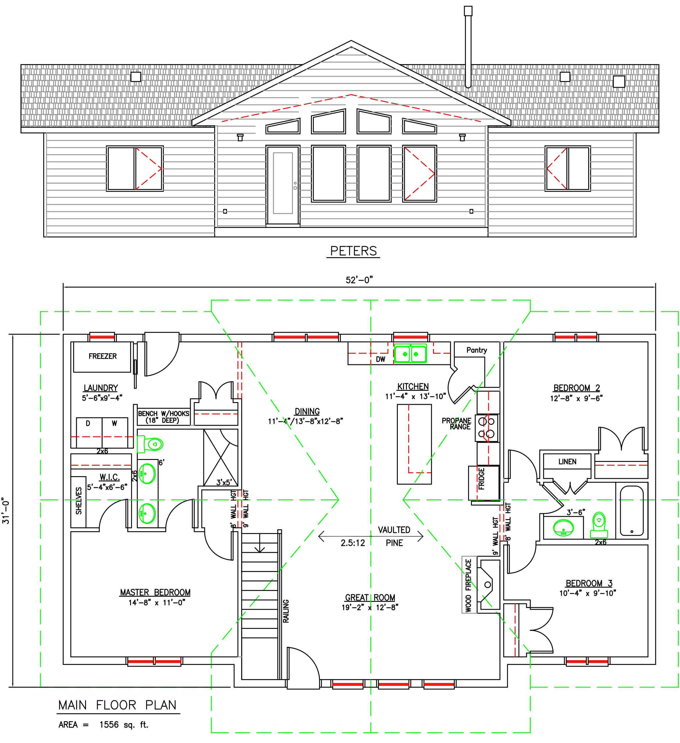 Peters Floor Plan