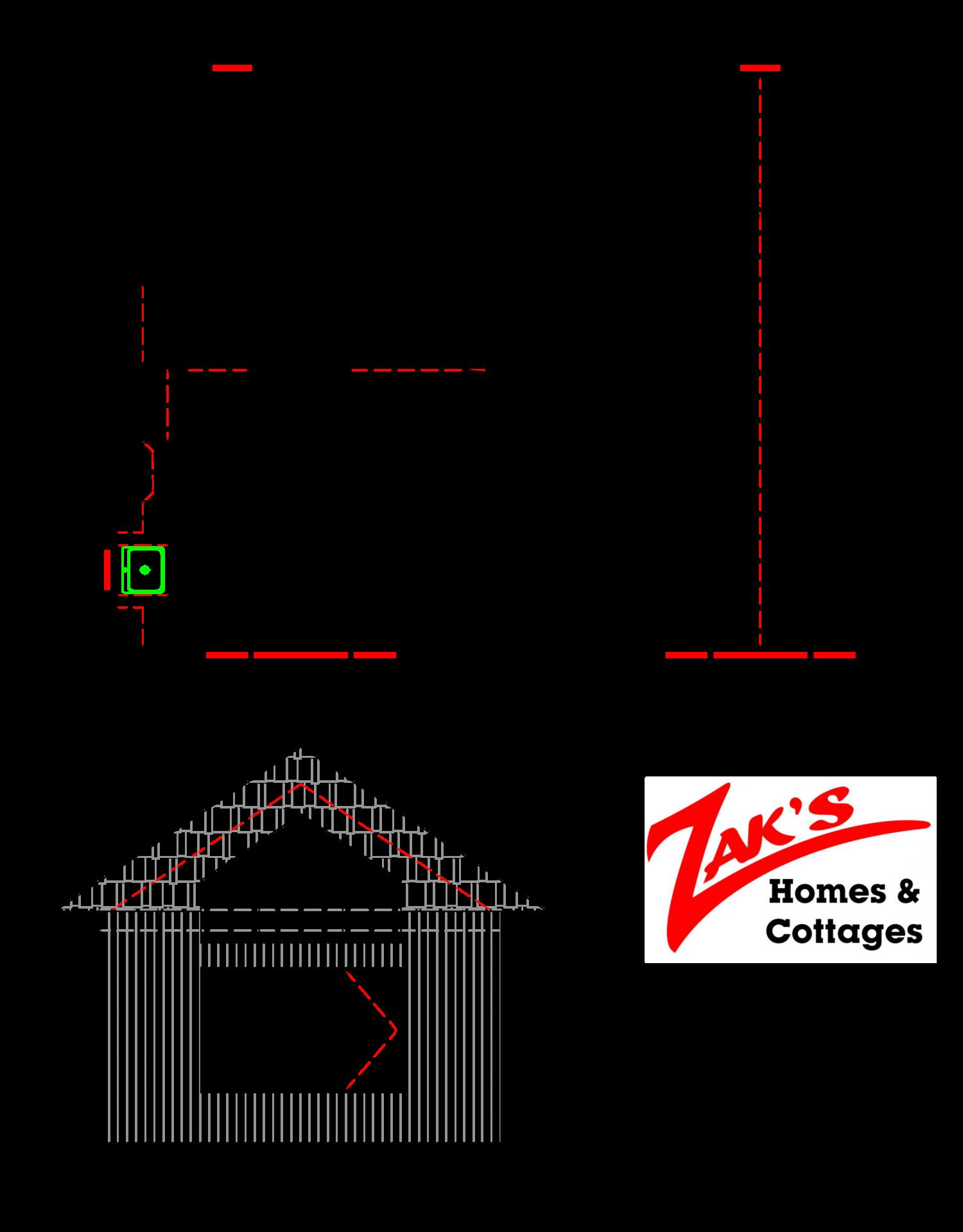 Getaway Floor Plan